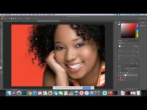 Photoshop Lab – Selections 2 – Model Image  Solution