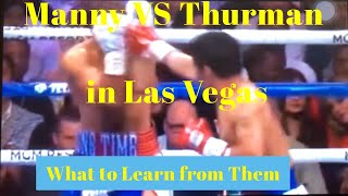 Manny Pacquiao VS Keith Thurman, WBA Superwelterweight in Las Vegas | Quotes