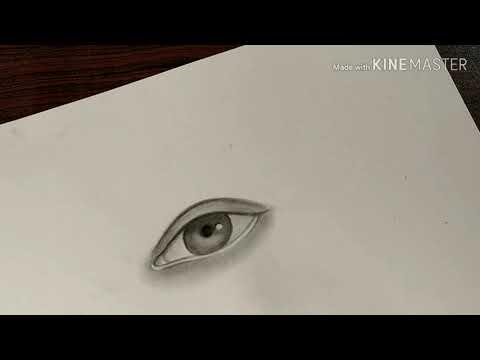 Realistic Eyes Tutorial 🙂😊😊😇