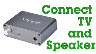 Avantree How to- Digital to Analog Audio Converter, Optical/Coaxial to Headphone/Speaker-DAC01