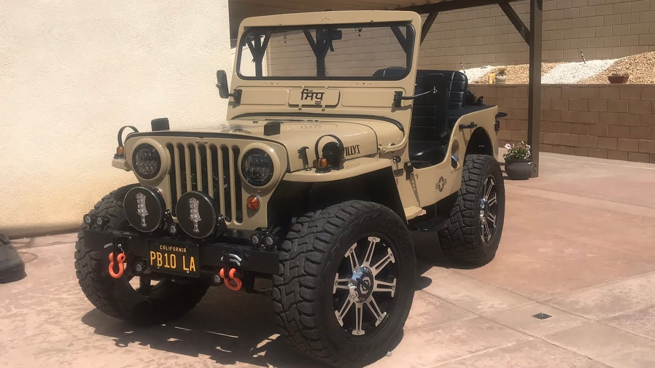 Modified Willys Jeep For Sale In Punjab