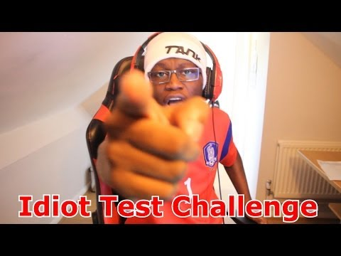 Thumbnail: The Idiot Test Challenge