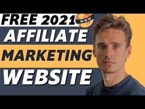 Create A FREE Affiliate Marketing Website With Free Hosting U0026 Free Domain! (2021)