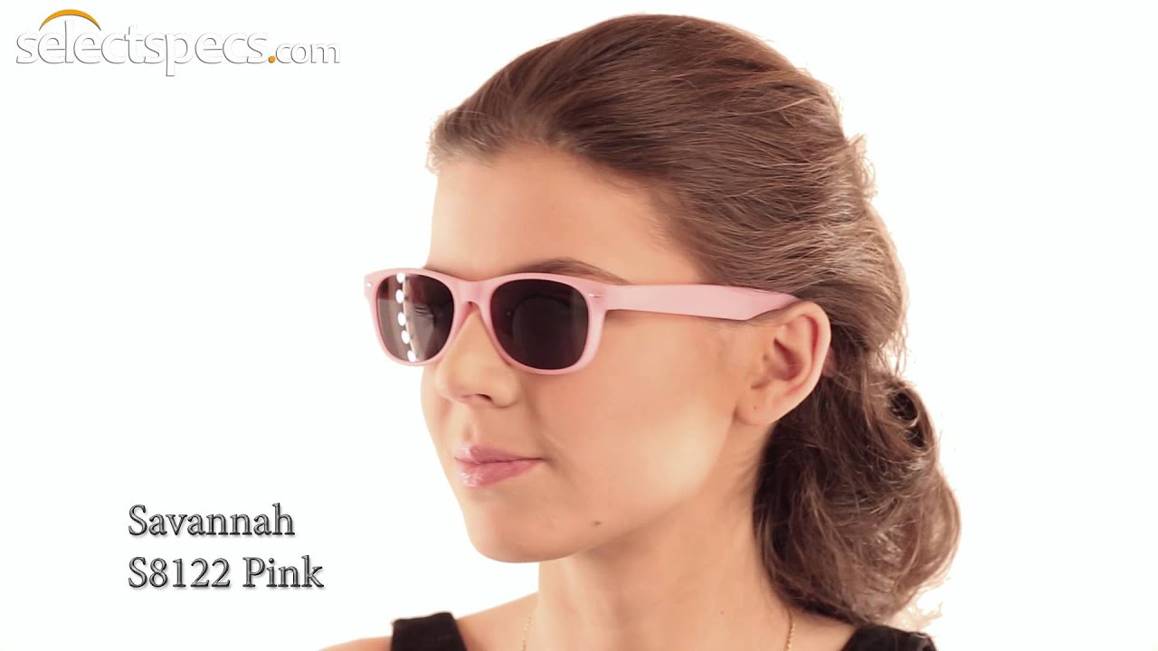 0305e7d498 Budget Wayfarer-style Sunglasses for Ladies - Savannah S8122 (Pink).  SelectSpecs