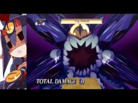 Disgaea 4 Main Characters Special Skill Exhibition - YouTube