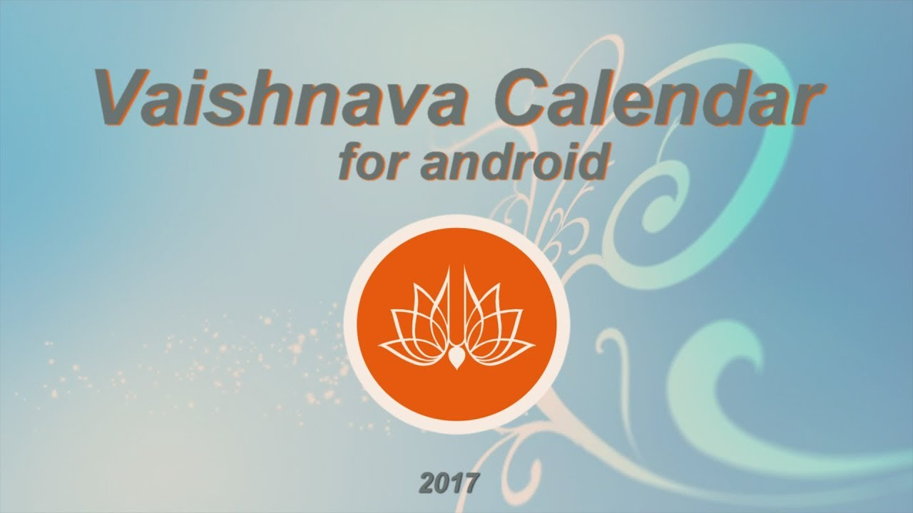 Vaishnava Calendar for ISKCON and Free Download