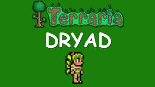 Terraria - How to get the Dryad