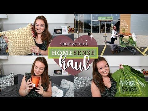 HUGE HOMEWARE HAUL! 🏡 | SHOP WITH ME AT HOMESENSE AD