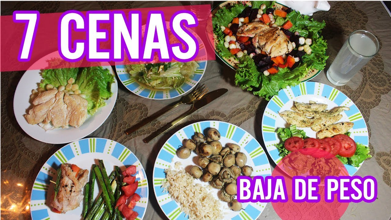 7 cenas saludables para adelgazar faciles l kariniwiii for Comidas faciles y saludables