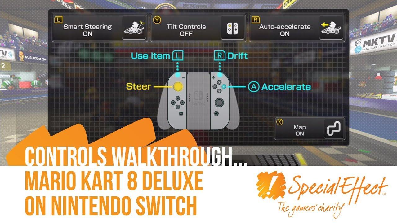 Mario Kart 8 Deluxe Controls Walkthrough