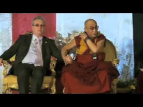 Dalai Lama & Richard Moore in Dublin, Ireland 2011