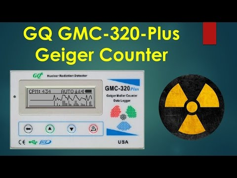 GQ GMC-230 Plus Geiger Counter and Uranium Ore