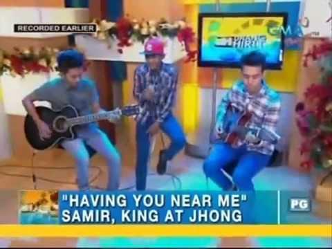 Having you near me Samir King Jhong Pinoy Air Supply