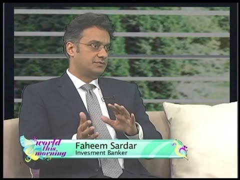 Savings & Investments, Mind Set, Trends, Culture and Dynamics | Faheem Sardar 201410