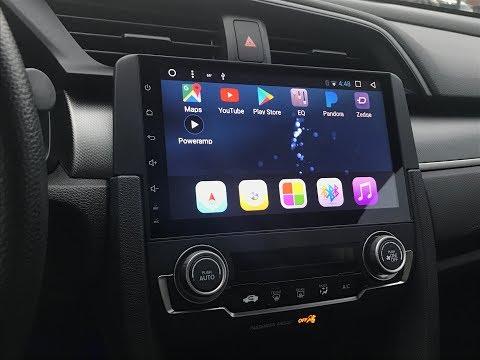 "10th gen Honda Civic Phoenix 9"" Android Head Unit Review"