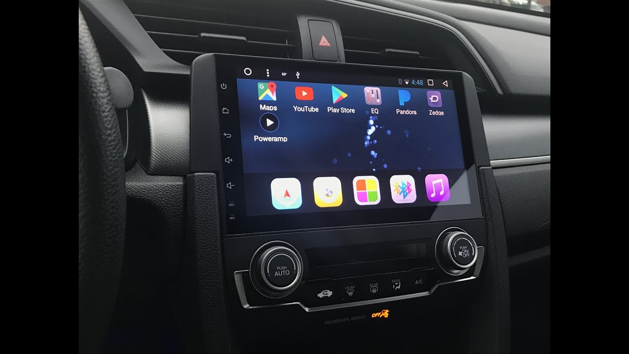 "10Th Gen Civic >> 10th gen Honda Civic Phoenix 9"" Android Head Unit Review - YouTube"