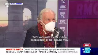 French scientist Delfraissy sees no return to post-Covid-19 normal before autumn 2021