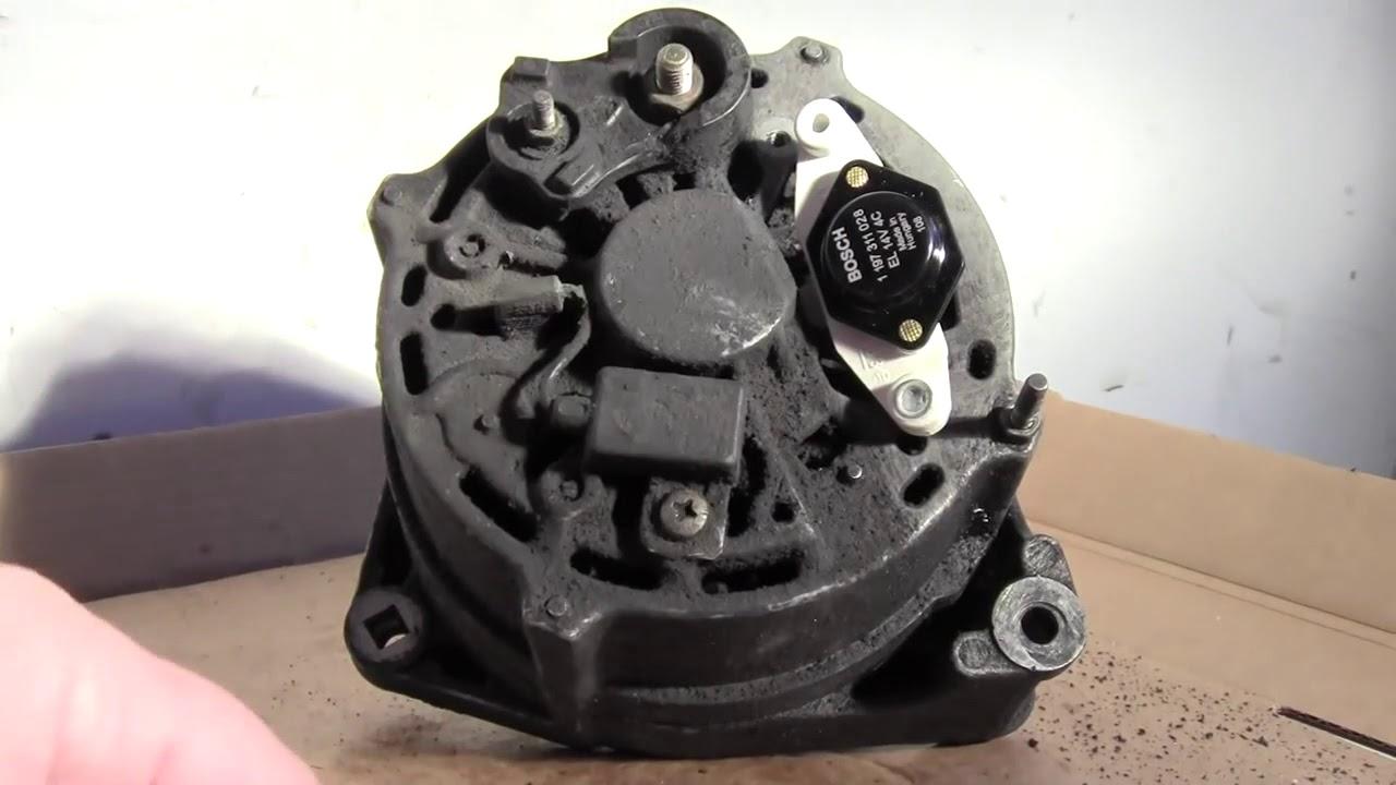 volvo 240 alternator wiring volvo 240 alternator repair youtube  volvo 240 alternator repair youtube
