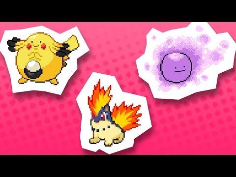 THE CUTEST POKÉMON FUSIONS (Pokémon Fusion Generation)