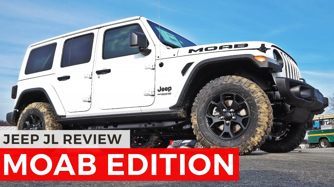 Jeep JL MOAB EDITION Review - YouTube