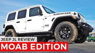 Jeep JL MOAB EDITION Review
