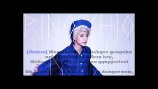 Fx -Pinocchio(Danger) Lyrics w/ MV(in the end)