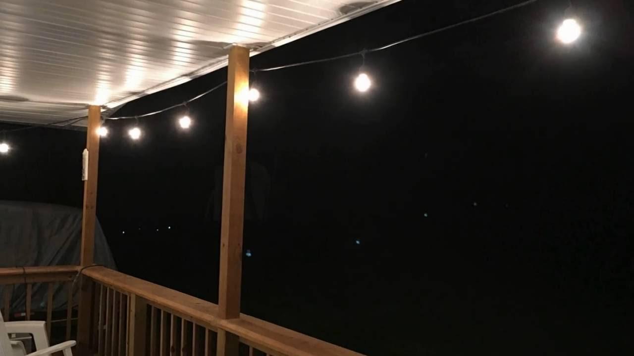 Proxy lighting 48 ft weatherproof outdoor string lights youtube proxy lighting 48 ft weatherproof outdoor string lights workwithnaturefo