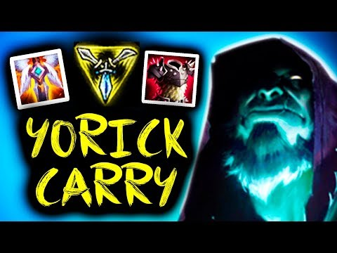 SirhcEz - YORICK IS BACK 😀 | FULL UNKILLABLE TANK + MOST DAMAGE ON THE TEAM