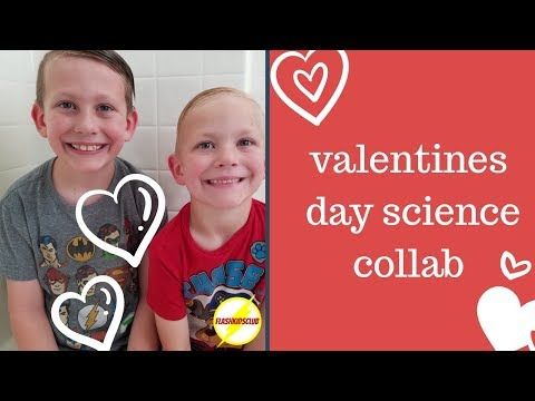 VALENTINES DAY SCIENCE COLLABORATION | FUN SCIENCE FOR KIDS | FLASH KIDS CLUB