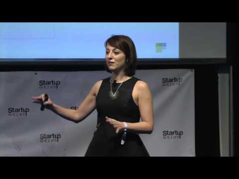 Deena Varshavskaya (Wanelo) at Startup Grind 2014