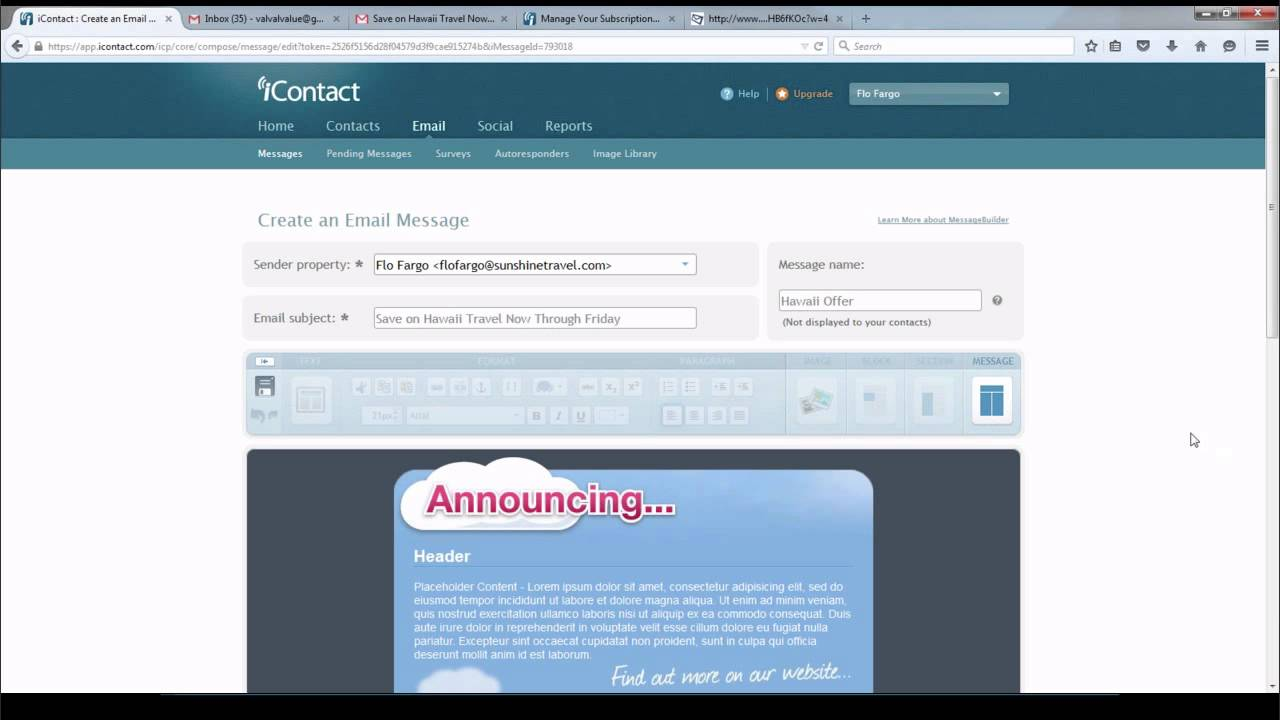 iContact - Create and Send Effective Emails Webinar - YouTube