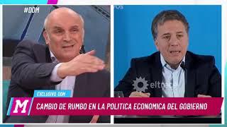 "José Luis Espert: ""Los anuncios de Macri son pan para hoy hambre para mañana"""