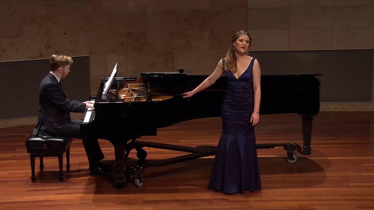 """Gypsy Melodies"" (in German) op.55  by Antonín Dvořák sung by Erin O'Meally"