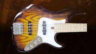Jazz Custom 4  string - Lindy Fralin Pickups and Aguilar Electronic _ Eliezer Lara Guitars