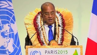 """The Fossil Fuel Era Must Draw to a Close"": A Message from the Marshall Islands to the World"