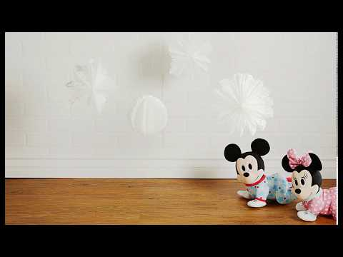 Disney Baby | Musical Crawling Plush Toys | Crawling Race