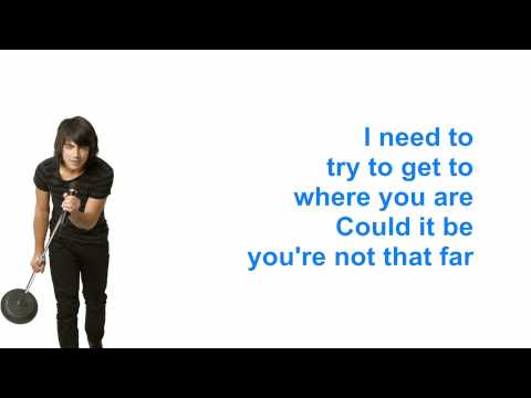 Jonas Brothers - I Gotta find you - Karaoke Instrumental Lyrics (Camp Rock)