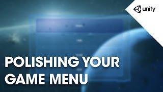 Live Training 19th September 2016 - Polishing Your Game Menu