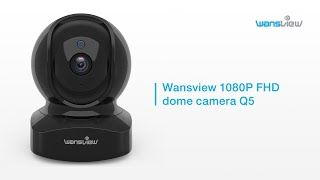 Wansview Q5-1080P FHD Dome Camera