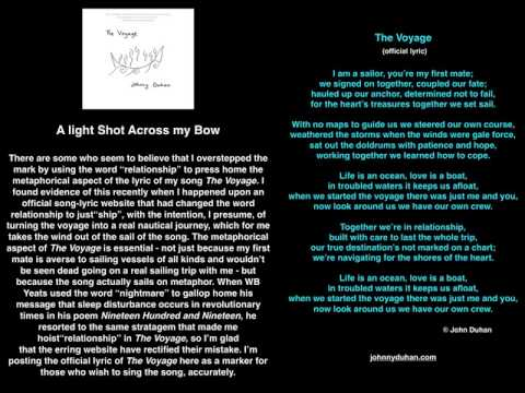 The Voyage (official lyric)
