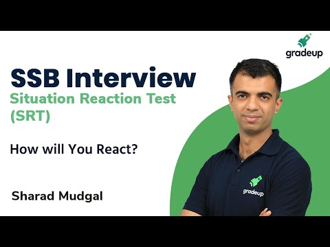 Situation Reaction Test (SRT)   How will You React?   SSB Interview   Gradeup