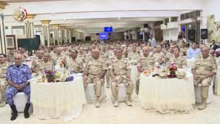 الفريق أول صدقى صبحى يلتقى بمقاتلى المنطقة الغربية والمنطقة الجنوبية العسكرية ويكرم عدد من المتميزين
