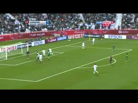 Jordan vs. Saudi Arabia - AFC Asian Cup 2011 - 2nd Half