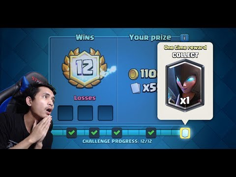 NIGHT WITCH DRAFT CHALLENGE !! - Clash Royale Indonesia