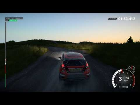 DIRT 4 Contemporary open Stage