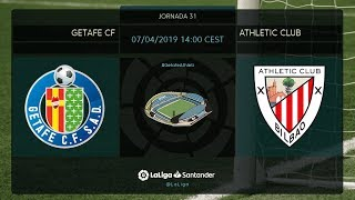 Calentamiento Getafe FC vs Athltic Club