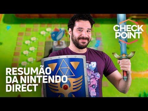 RESUMO DA NINTENDO DIRECT E HOLLOW KNIGHT 2 - Notícias de gamesиз YouTube · Длительность: 6 мин11 с