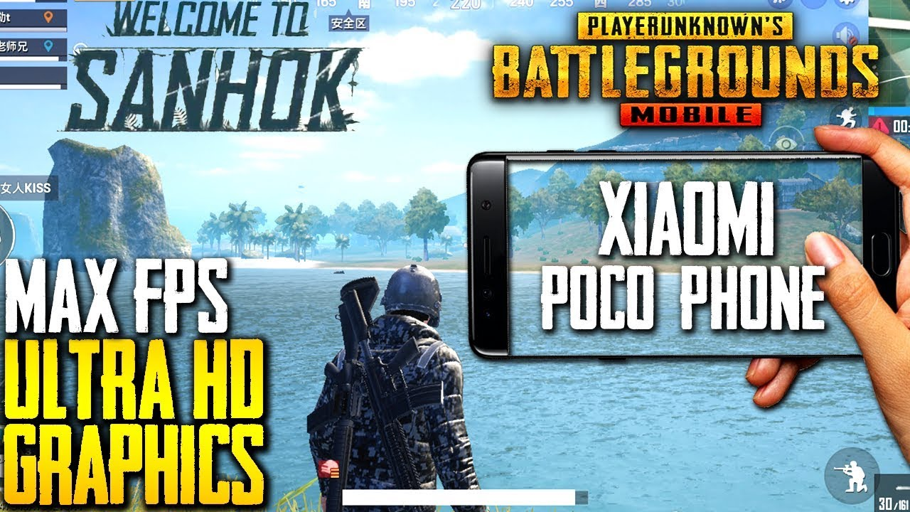 Hd Graphics In Pubg Mobile: ULTRA HD GRAPHICS ON XIAOMI POCO F1