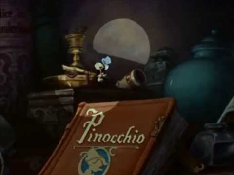Disneys Pinocchio When You Wish Upon A Star Youtube