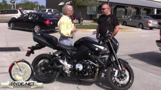 Suzuki B-King Rider Review